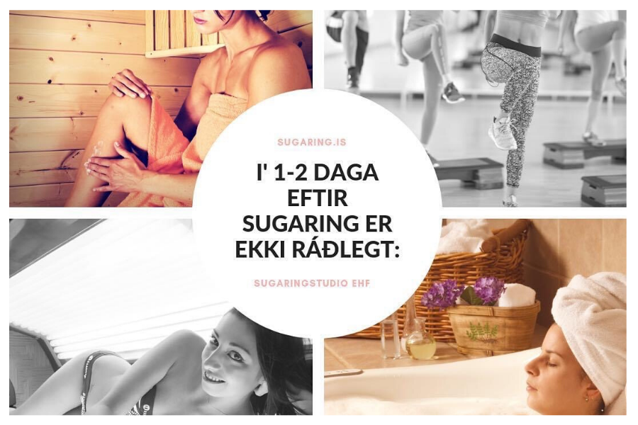 Húðumhirða eftir Sugaring